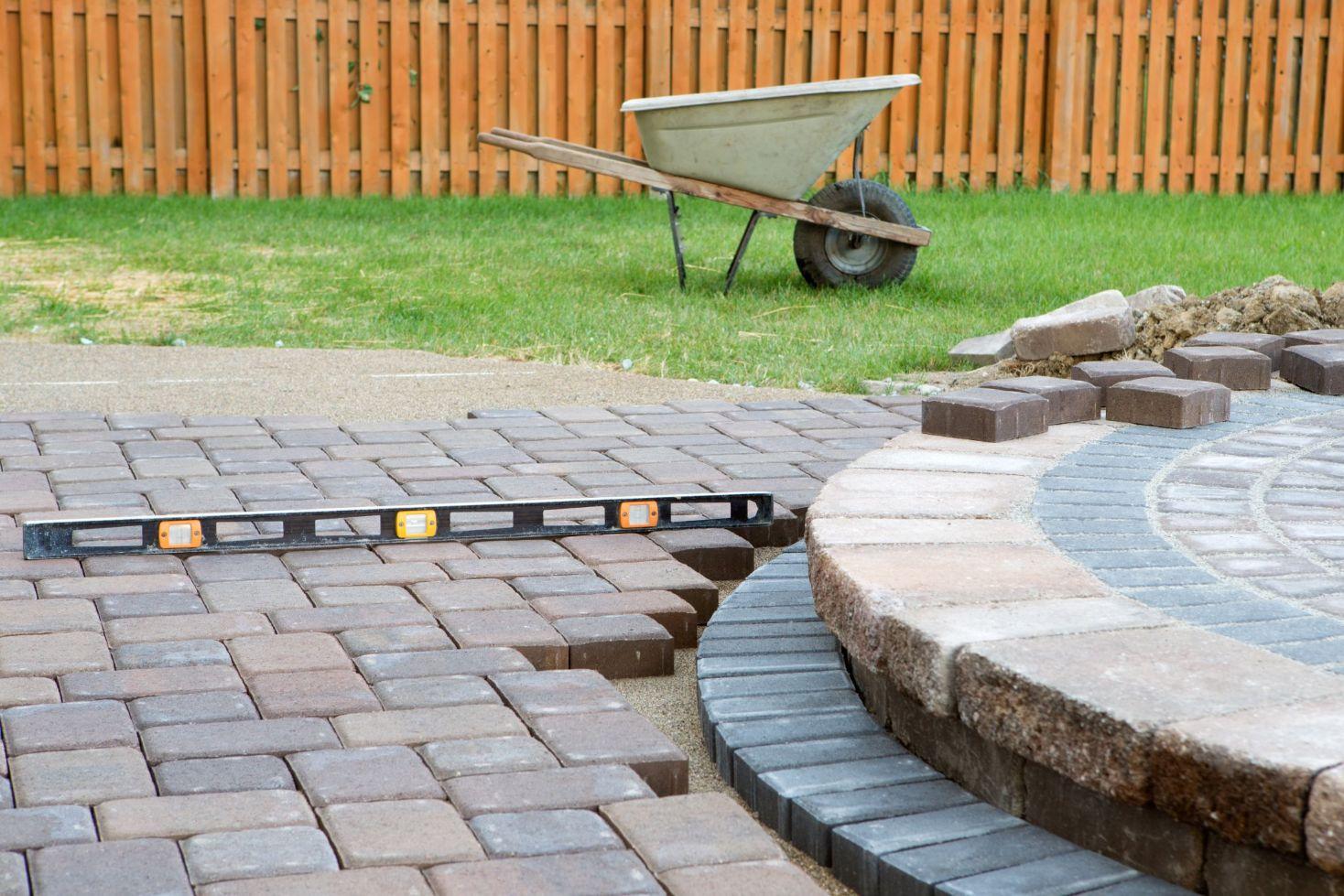 back patio pavers installation in phoenix, az