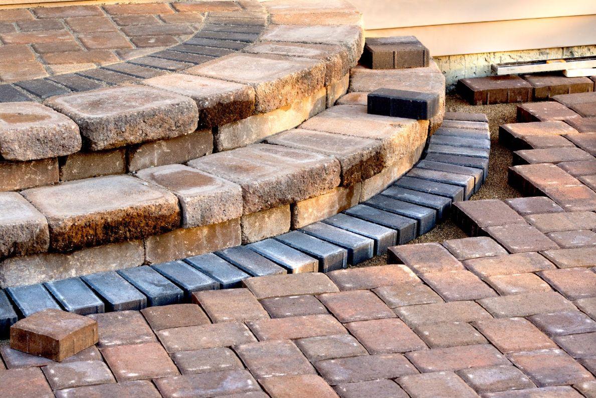 brick steps installation in phoenix