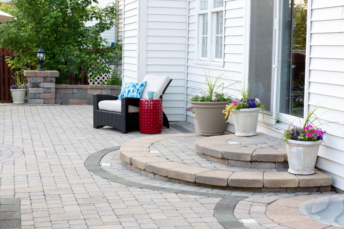 backyard patio paving in phoenix